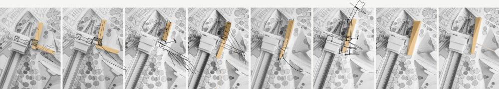 Theo Jones architecture Crystal Palace Park Rosarium concept model
