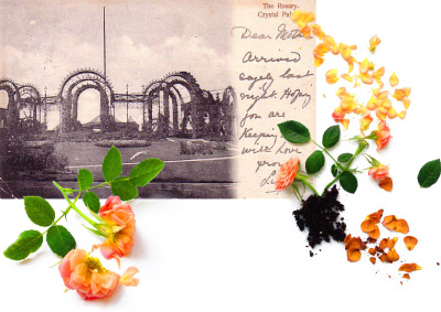 Hartmann, F (1904) The Rosary, Crystal Palace Park postcard (Public Domain)