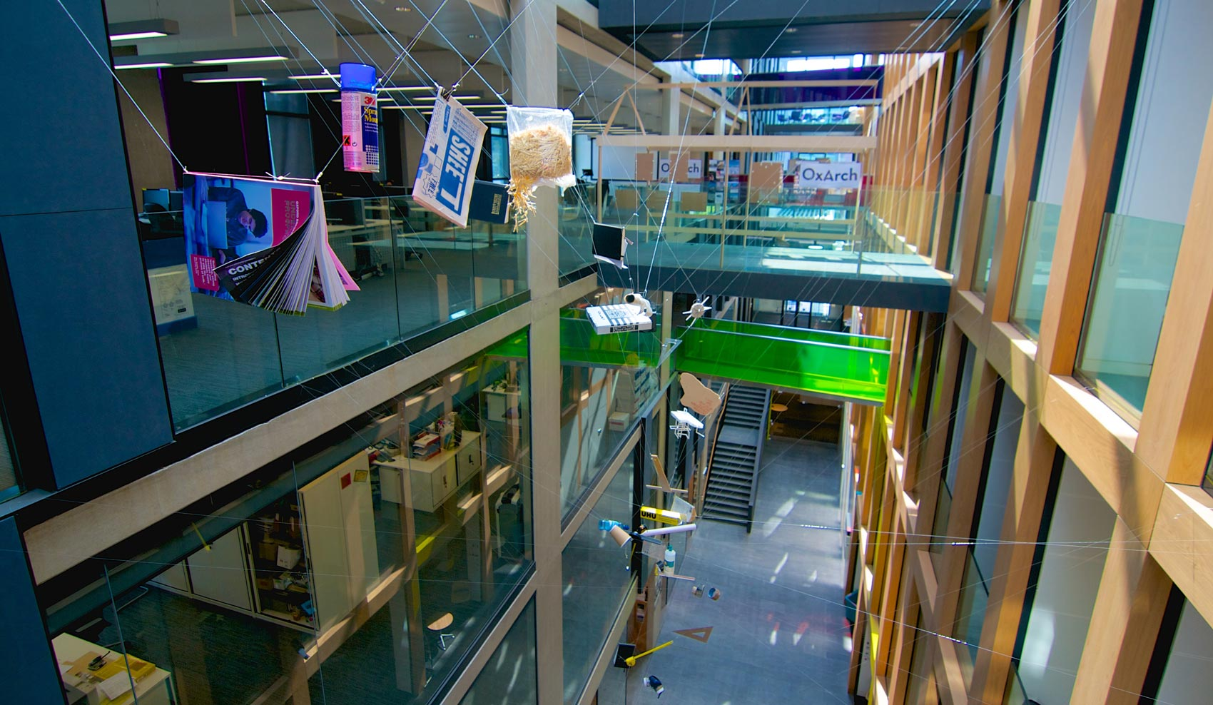 Theo Jones architecture Overflow installation Oxford Brookes School of Architecture