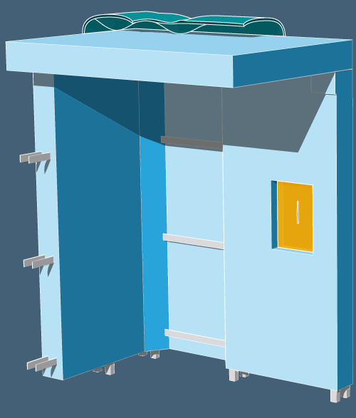 Theo Jones architecture bioplastic composite wall structure illustration axo drawing diagram starch gelatine