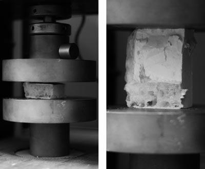 Theo Jones architecture bioplastic structural testing deformation compression