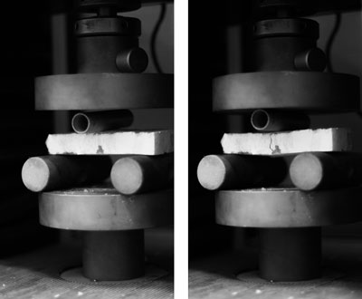 Theo Jones architecture bioplastic structural testing deformation tension