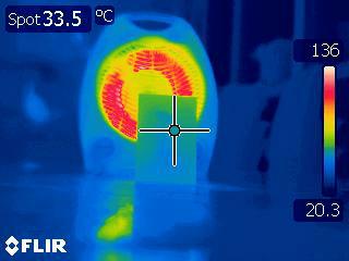 Theo Jones architecture bioplastic testing thermal camera flir base