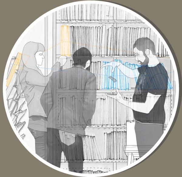 Theo Jones architecture International Magic Shop london section magic trick