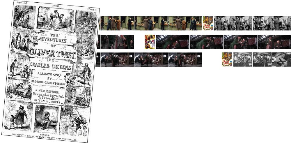 Stealing scenes on film: Oliver Twist (2005) Oliver! (1968) Oliver Twist (1948)